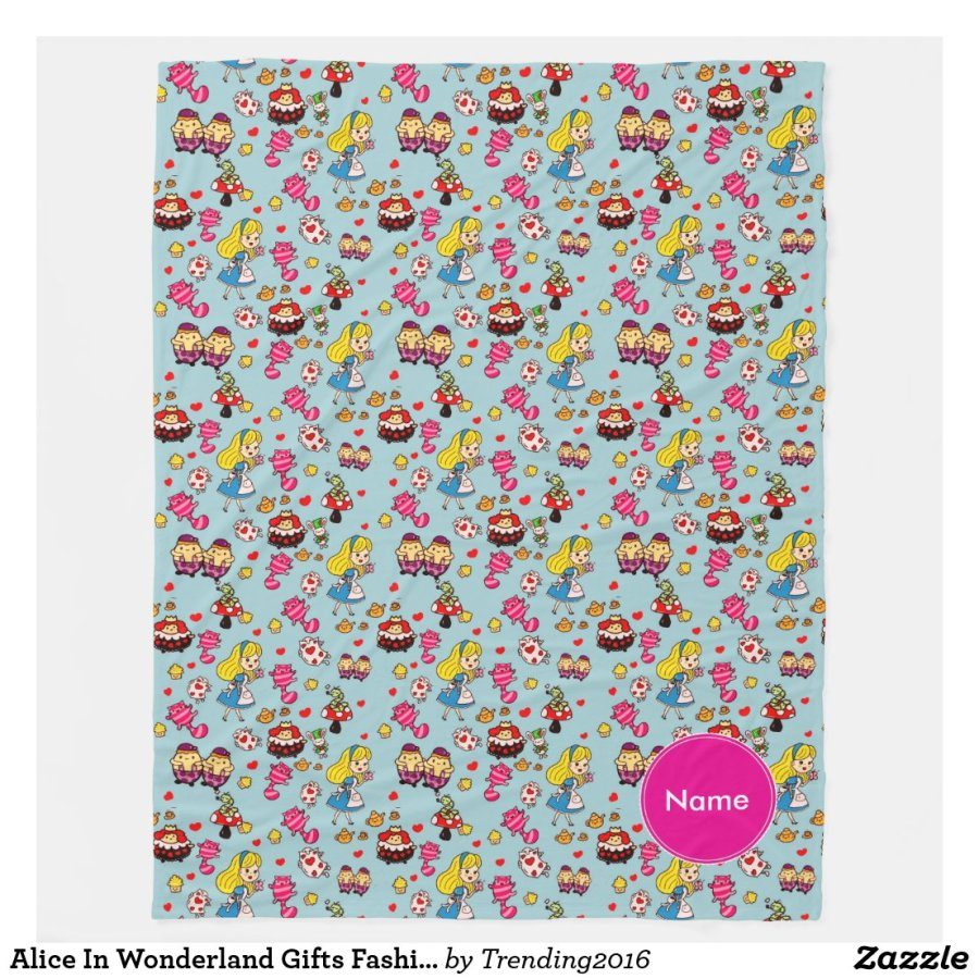 Alice in Wonderland Girls Room decor Persoanlized