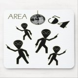 Alien Area 54 Mousepad