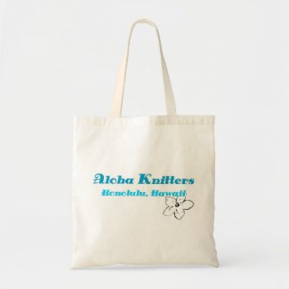 Aloha Knitters Small Tote Bag bag