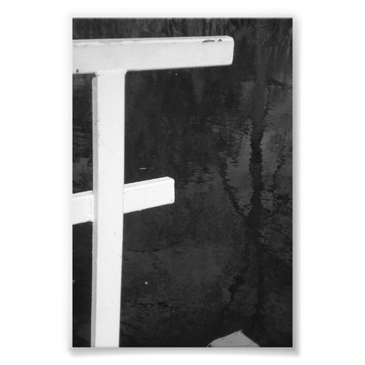 Alphabet Letter Photography F8 Black And White 4x6 Photo