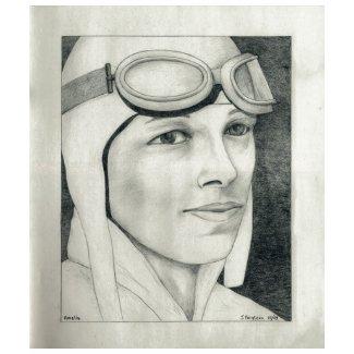 Amelia Earhart shirt