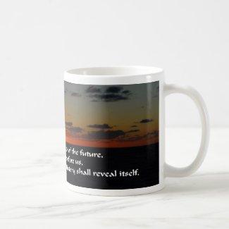 America and the future coffee mug