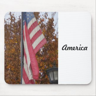 """America"" CricketDiane Art & Photography Mouse Pad"