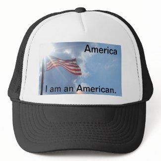 America - I am an American Mesh Hats