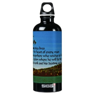 America SIGG Traveler 0.6L Water Bottle