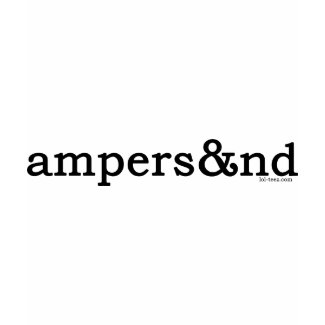 Ampersand shirt