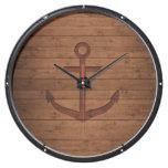 Anchored Rustic Aquavista Clock