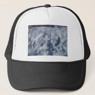 Angel On The Snow Trucker Hat