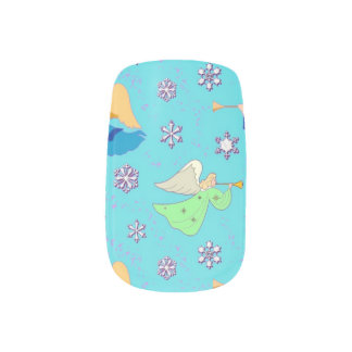 Aliexpress Nail Art Stickers Decal Cute White Angel