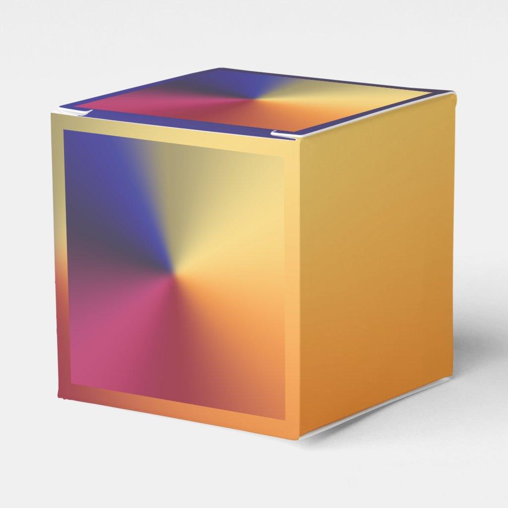 Angle Radiant Gradient Favor Box