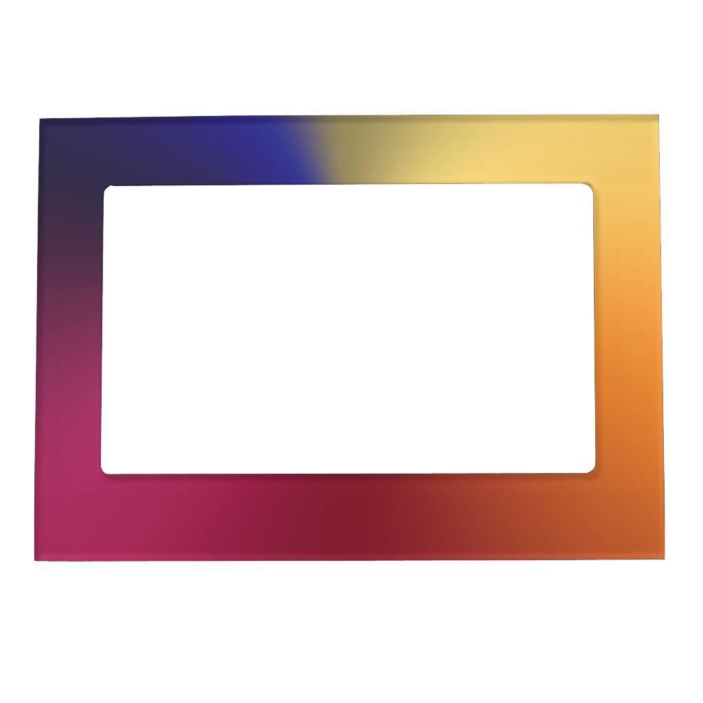 Angle Radiant Gradient Magnetic Frame