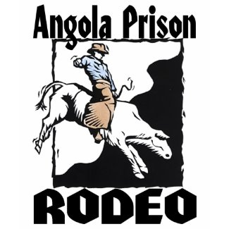 Art In The News Angola Prison Rodeo Bull Rider Tshirts