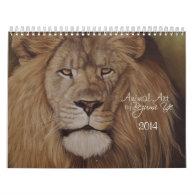 Animal Art 2014 Calendar