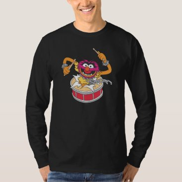 Animal Crashing Through Drums T-Shirt