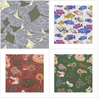 Animal Fabric Patterns!