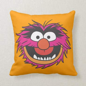 Animal Head Throw Pillow