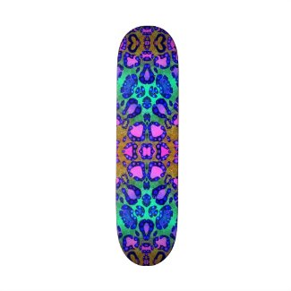 Animal Print Pattern Skateboard Decks