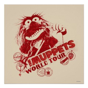 Animal World Tour Poster