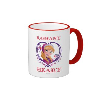 Anna, Radiant Heart Mug