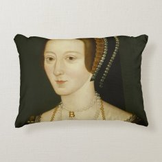 Anne Boleyn Quote Pillow
