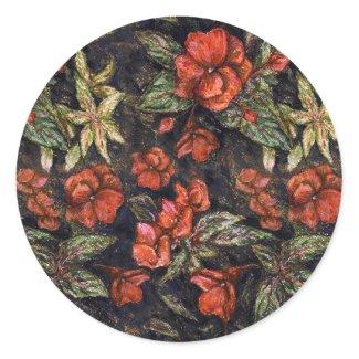 Antique Flowers by Alexandra Cook aka Linandara sticker