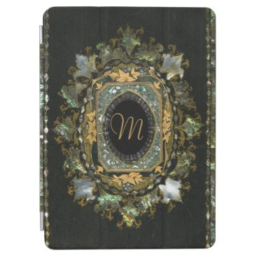 Antique Monogram Mother Of Pearl iPad Air Cover