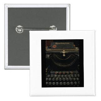 Antique Typewriter Button