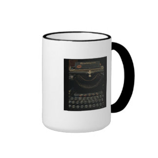 Antique Typewriter Mugs