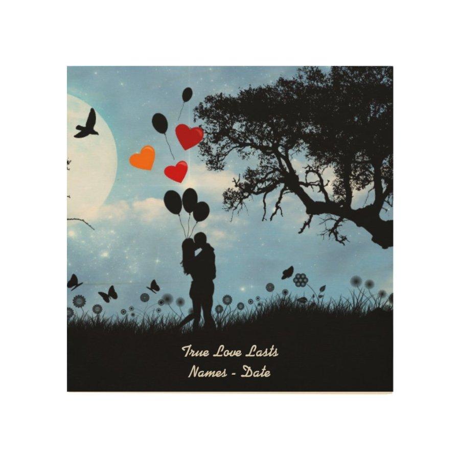 Any years wedding Anniversary Art personalized