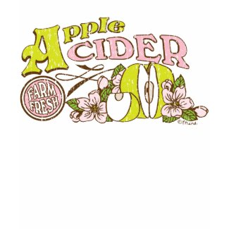 Apple Cider Sign shirt
