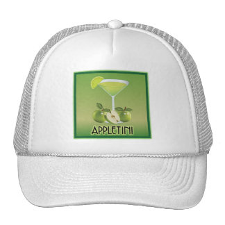 Appletini Green Mesh Hat
