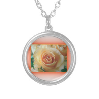 Apricot Rose Blur Custom Jewelry