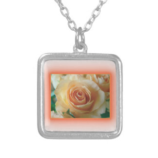 Apricot Rose Blur Jewelry