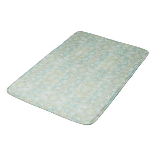 Aqua Turquoise Bathroom Mat