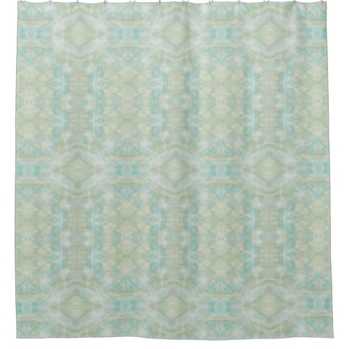 Aqua Turquoise Shower Curtain