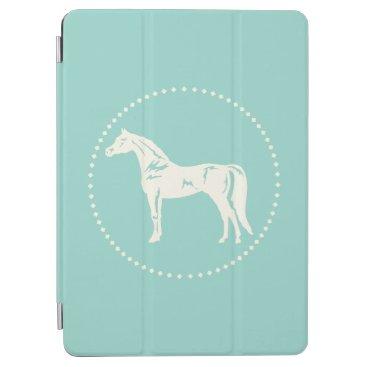 Arabian Horse Silhouette iPad Air Cover