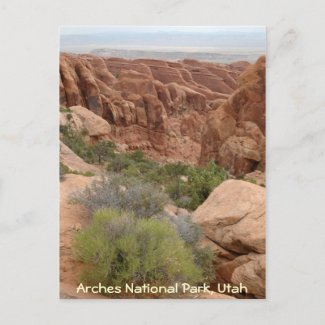Arches National Park postcard