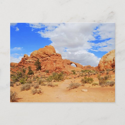 Arches National Park, Utah, Postcard postcard