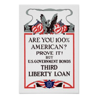 Are you 100% American? Buy Bonds