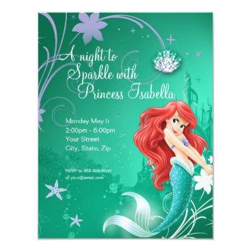 Ariel | The Little Mermaid Birthday Invitation
