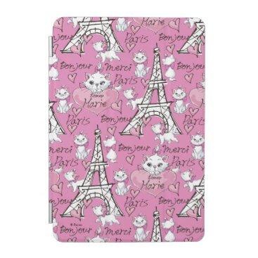 Aristocats | Marie Paris Pattern iPad Mini Cover