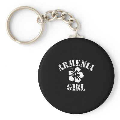 Armenia Tattoo Style Keychain by repofcountries