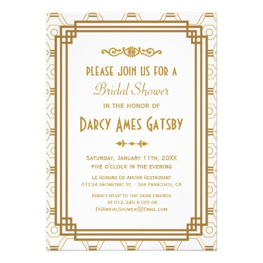 Roaring Twenties Invitation Template