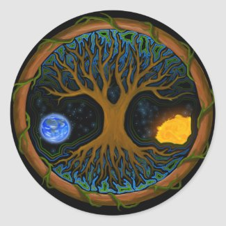 Astral Tree of Life - Sticker sticker