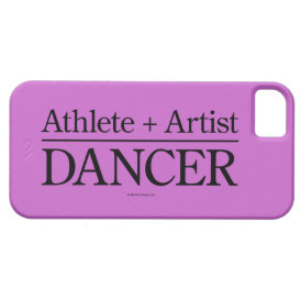 Athlete   Artist = Dancer iPhone 5 case