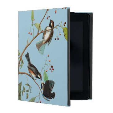 Audubon: Chickadee iPad Folio Case