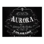Aurora, Colorado - Gateway To The Rockies Postcard