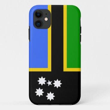 Australia South Sea Islander Flag iPhone 11 Case