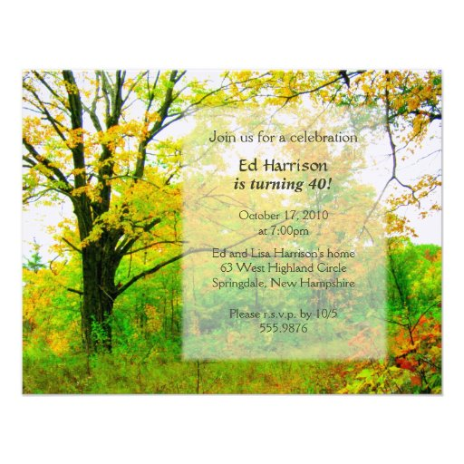 Fall Party Invitation Template free fall party invitations free – Zazzle Party Invitations