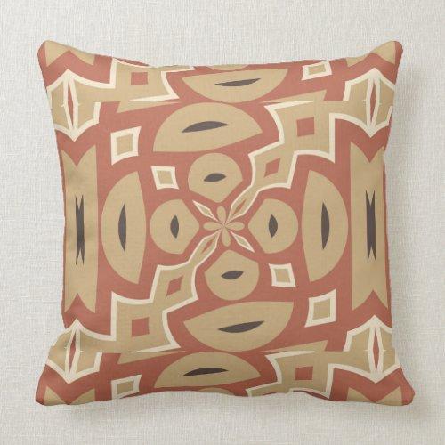 Autumn Pumpkin Spice Design Throw Pillow